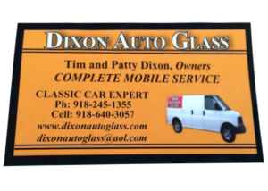 Mobile Auto Glass Business Card